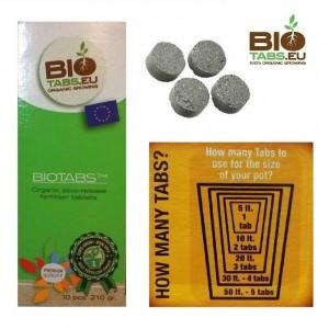 Pastiglie fertilizzanti organiche a lento rilascio